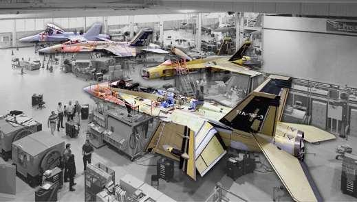 F/A-18E/F, EA-18G Design Commonality Simplifies Program EA-18G SDD Contract EA-18G