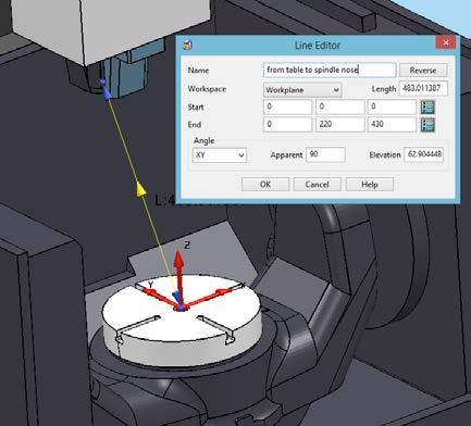 "<table_attach_point PART=""table"" X=""0"" Y=""0"" Z=""0""/> All other parts of the machine tool are then attached with reference to its position. Head Attach Point as written in *."