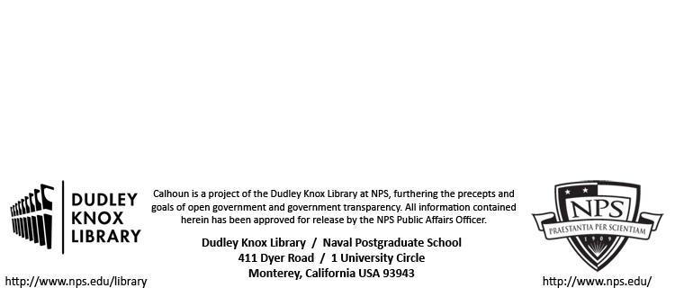 Calhoun: The NPS Institutional Archive Theses and Dissertations Thesis Collection 2001-03 Development, simulation and evaluation of the IEEE
