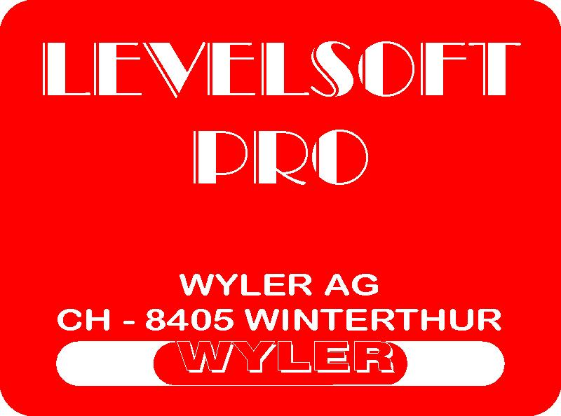 1.6 WYLER SOFTWARE LEVELSOFT The WYLER software LEVELSOFT well proven package based on the ISO 1101 for measuring lines and surface flatness constantly upgraded to the demands of the user.