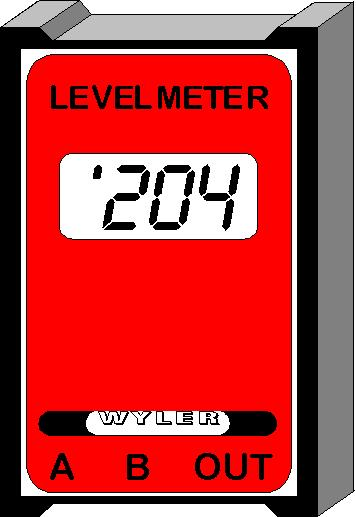 Differences between LEVELMETER 25, C25 and LEVELMETER 2000 using cables Measured values in analogue form possible via cables only LEVELMETER C25/DC The