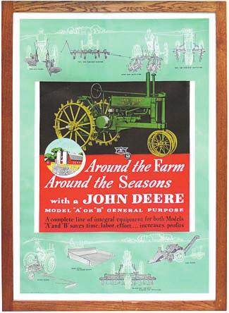 That final day was highlighted by the Rich Penn Auction of the Dean Stump lifetime collection of John Deere memorabilia.