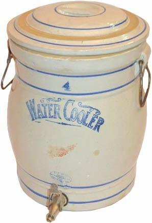 North Star 3 gallon salt glaze crock.