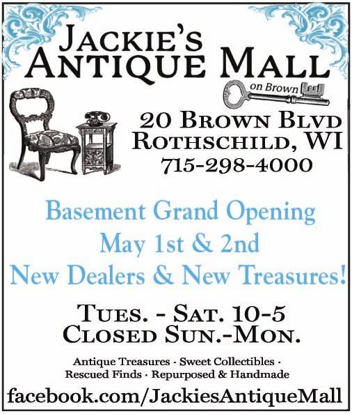 com Three-Story Antique Mall Hours: M-F 10-6 pm Sat. 10-5 pm Sun.