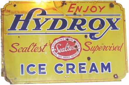 this 48 Sealtest Hydrox Ice Cream sign, asking