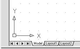 Geometric Construction Basics 1-15 The CAD Database and the User Coordinate System Designs and drawings created in a CAD system are usually defined and stored using sets of points in what is called