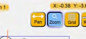 Pan If the Pan button is selected, dragging a finger across the screen will pan the current view in the direction of the drag (Figure 4.19).