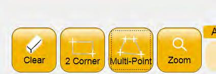 Multi-Point For more complex areas, plot multiple points to create any shape such as a triangle or a shape with numerous points using the Muliti-Point button (Figure 5.21).