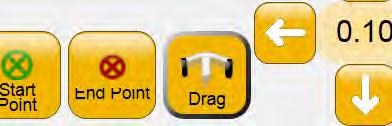 Drag and Drop Use the Drag function to choose any point on the screen and drag it to a new location.