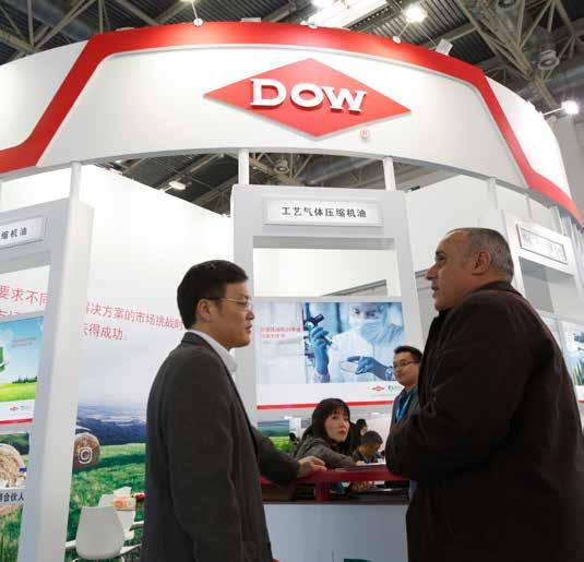 Dow Chemical In the face of boundless potentials of Chinese market, Dow has formulated the market strategy aiming at China in addition to the establishment of efficient management mode in order to