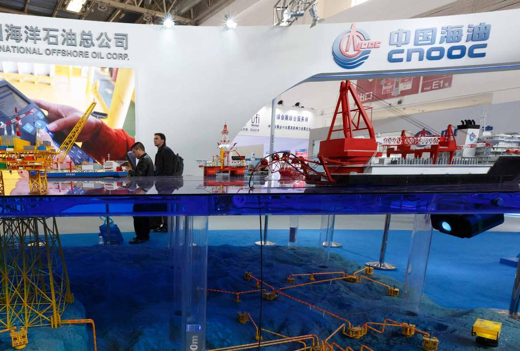 cippe Proportion of Offshore Engineering Equipment Enterprises Reaching 48% The offshore engineering equipment and high-tech ship are listed as one of the top ten key development fields in Made in