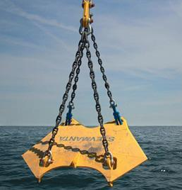 load test required 50% of breaking load of chain Vryhof Anchors, http://www.