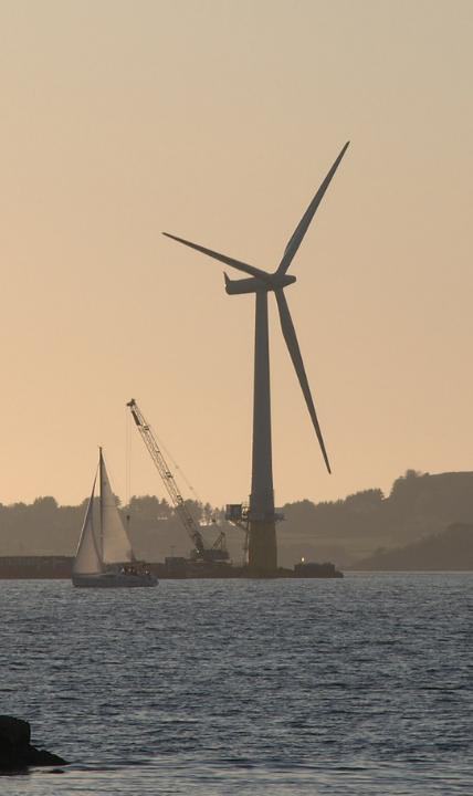 Existing Floating Offshore Wind Turbines Statoil Hydro Hywind Spar, 2.