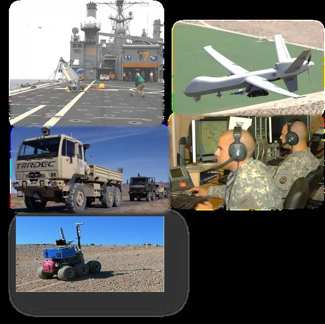 Autonomy and Robotics DoD Investments in