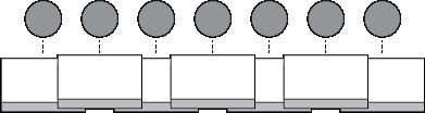 The traditional layout, depicted in Error! Not a valid bookmark self-reference., was most suited for a stationary robot whacking each mole by moving only its arm.