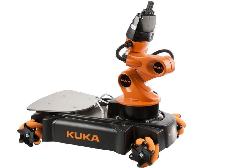 The robot used for the study was a KUKA youbot. It was controlled by a program, written in ROS that responded to commands sent from the server.