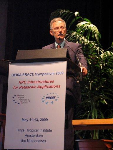 The following notes from the DEISA PRACE Symposium are made by Wolfgang Gentzsch and published in the DEISA newsletter 3/2009.