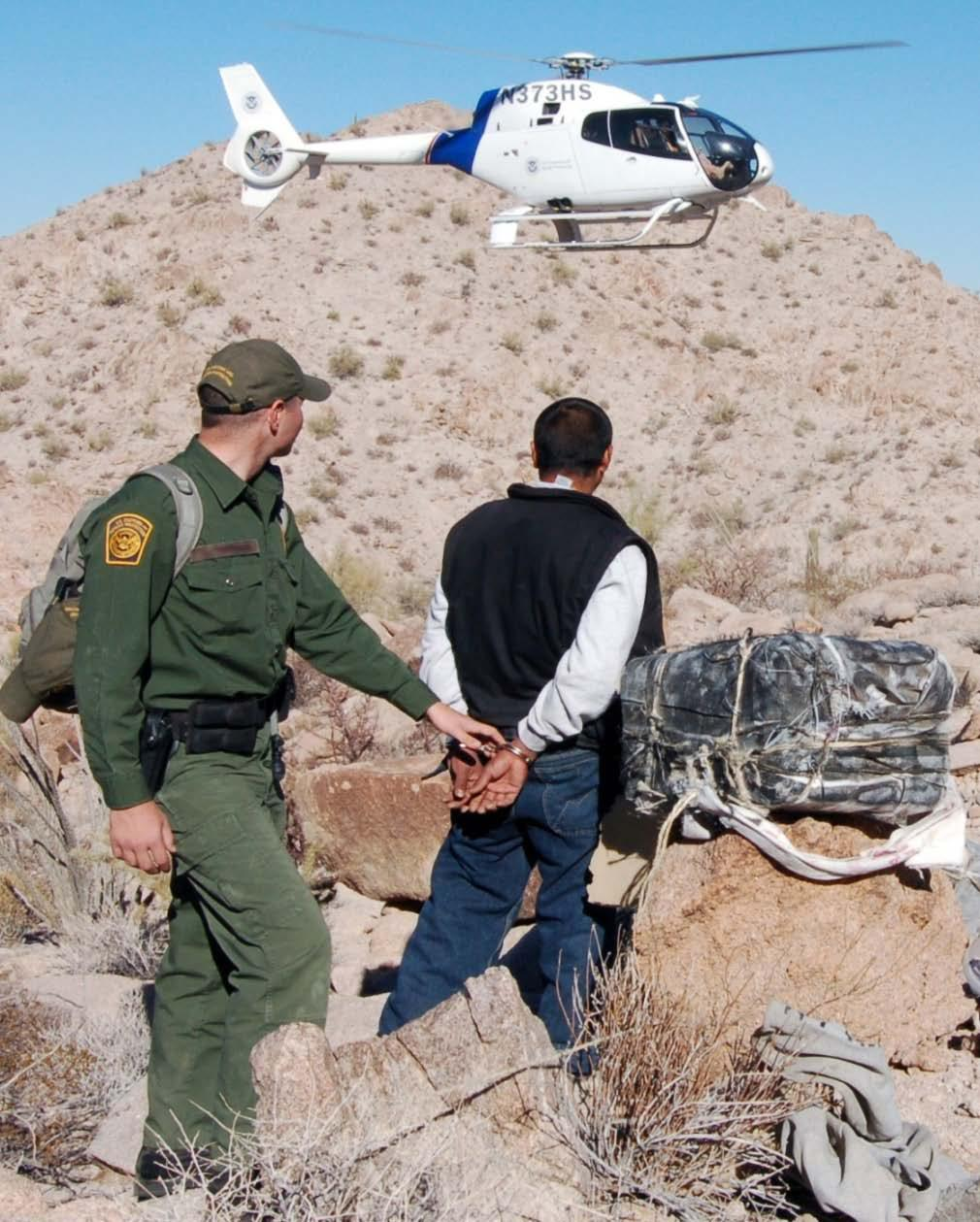 Recent Border Protection Successes 352 million travelers inspected at ports of entry Nationwide Border Patrol apprehensions of illegal aliens decreased to approximately 463,000, a 36 percent