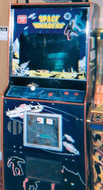 126 CHAPTER 5: Making a Shoot-Em Up: Carrot Invader Figure 5-1. A Space Invaders arcade cabinet. Space Invaders is a shoot em up game. You control a spaceship that shoots at its enemies with a cannon.