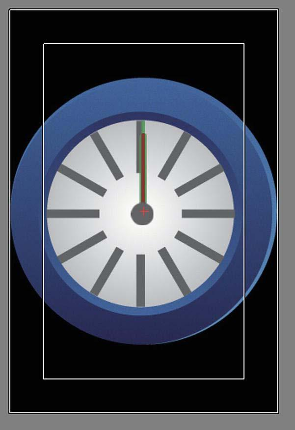 318 CHAPTER 10: Device Internal Clock and Cyclic Movement: Non-Game Apps Figure 10-8. The Clock scene Preview the project on your iphone or in the Preview window.