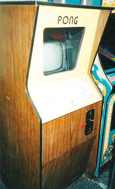 CHAPTER 2: The Pong Game 33 Figure 2-2. The original Pong arcade machine Pong was later developed in several versions, including a home game.
