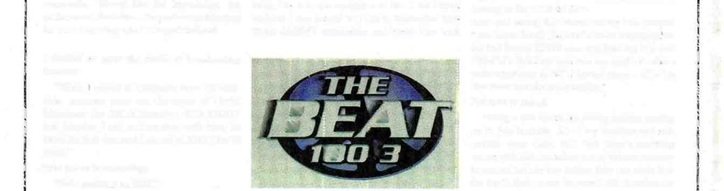 "executive Nancy Leichter of Radio One's Urban outlet in Los Angeles, KKBT (The Beat). ""The Beat is on its way up in a big way."