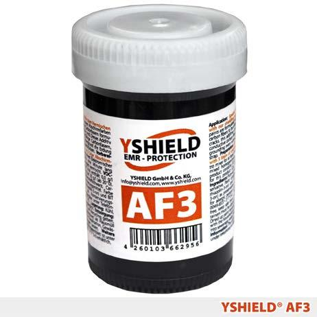 Paints Accessories AF3 - Fiber additive YSHIELD GmbH & Co. KG, Am Schulplatz 2, 94099 Ruhstorf, Germany Sheet products Fabrics Special additive for mixing with our shielding paints.