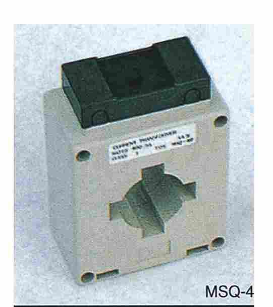 CURRENT TRANSFORMER The series of current transformers can be