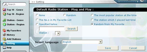 8. Add Stations You may suggest us some stations to add to the station list. Fill out the form and press [Submit], then we will look for the station, add to the list and response to you.