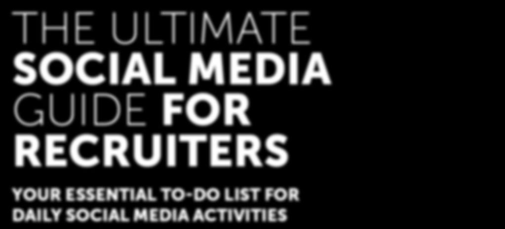 FOR DAILY SOCIAL MEDIA ACTIVITIES By