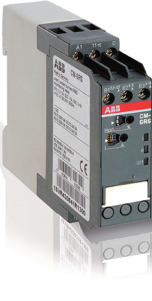 Data sheet Current monitoring relays CM-SRS.