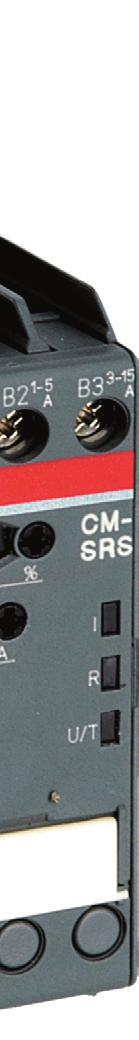 monitoring relays CM-SRS.1 can be used for over- b or undercurrent monitoring a in single-phase AC and/or DC systems. The devices work according to the open-circuit principle.