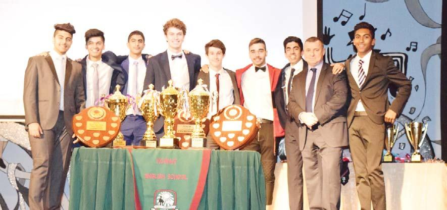 23rd at the school hall, where over 120 staff, pupils and honorable guests came together to celebrate all of the KES sporting achievements for this academic year, culminating in the presentation of
