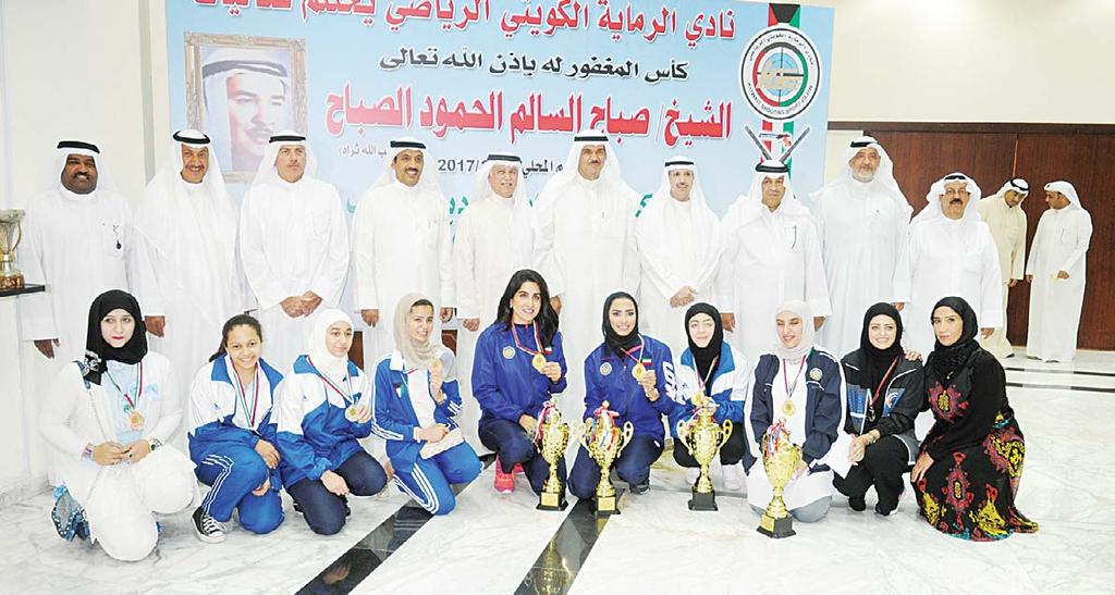Sheikh Salman Al-Hamoud congratulated the head, members and affiliates of the club for the lifting of the ban that was imposed on the Kuwaiti shooting sports.