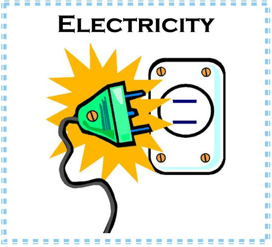 Electricity Materials used for electrical components are: