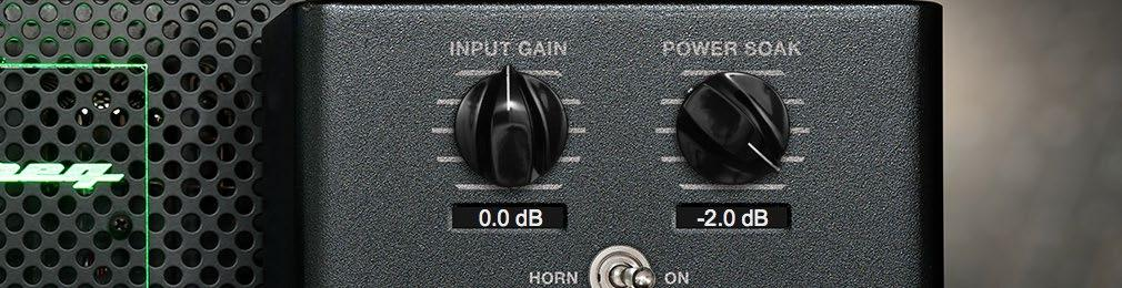The Controls of the Ampeg FX Rack (3) INPUT GAIN: If you want to drive the input of the Ampeg preamp harder or softer you may adjust the input gain to your liking.