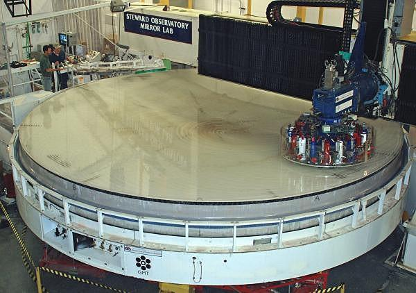 3 Telescope Precision A giant telescope mirror must be manufactured with a surface precision of 1/1000th the width of a human hair