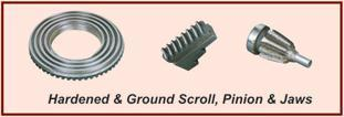SELF CENTERING CHUCK 1 Salient Features: Body: KIC Self Centering Chucks are supplied in semi steel bodies.