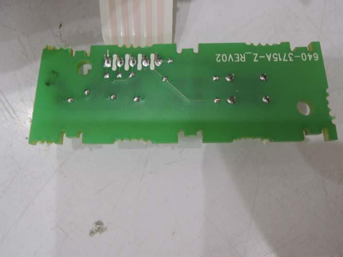 Rear View of the PCB
