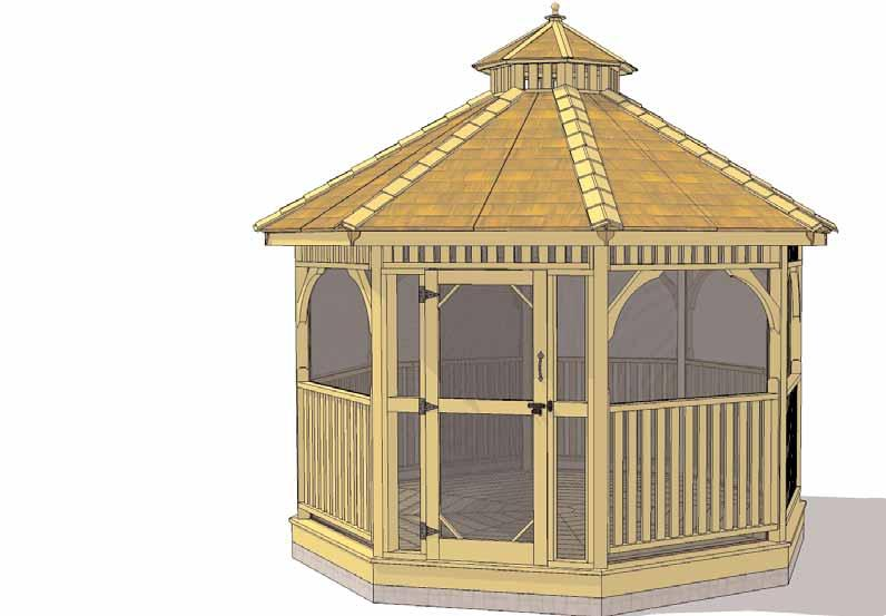 We hope your experience assembling the Bayside Gazebo Screen Kit has been both positive and rewarding.