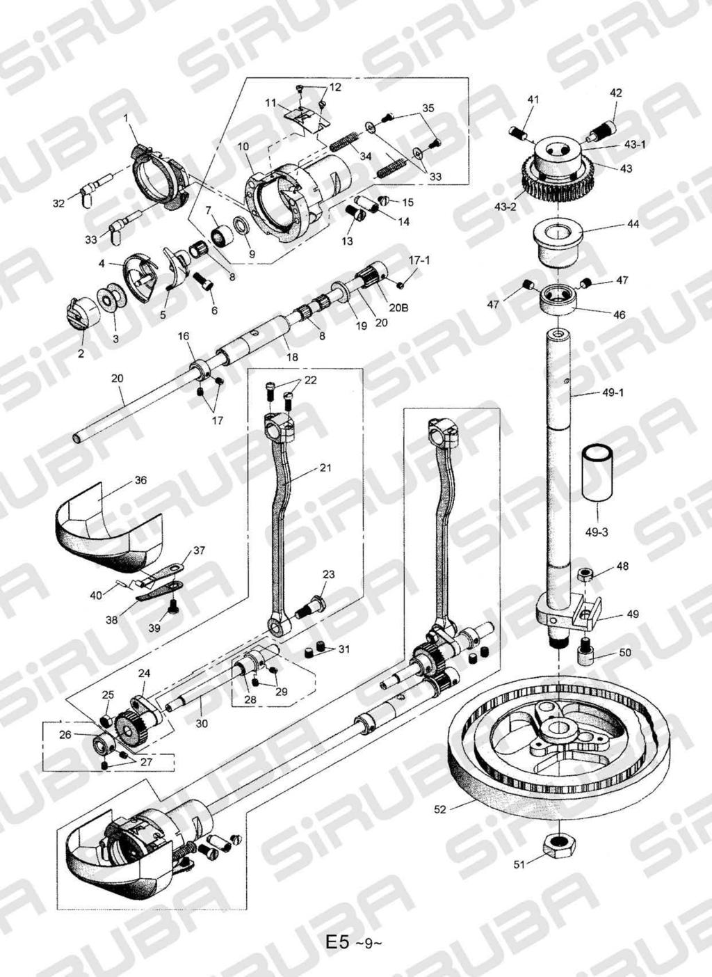 Pk522 Ffmajjw Flll Instruction And Parts List From The Library Fdt Holder Motor Universal 4 42 E5