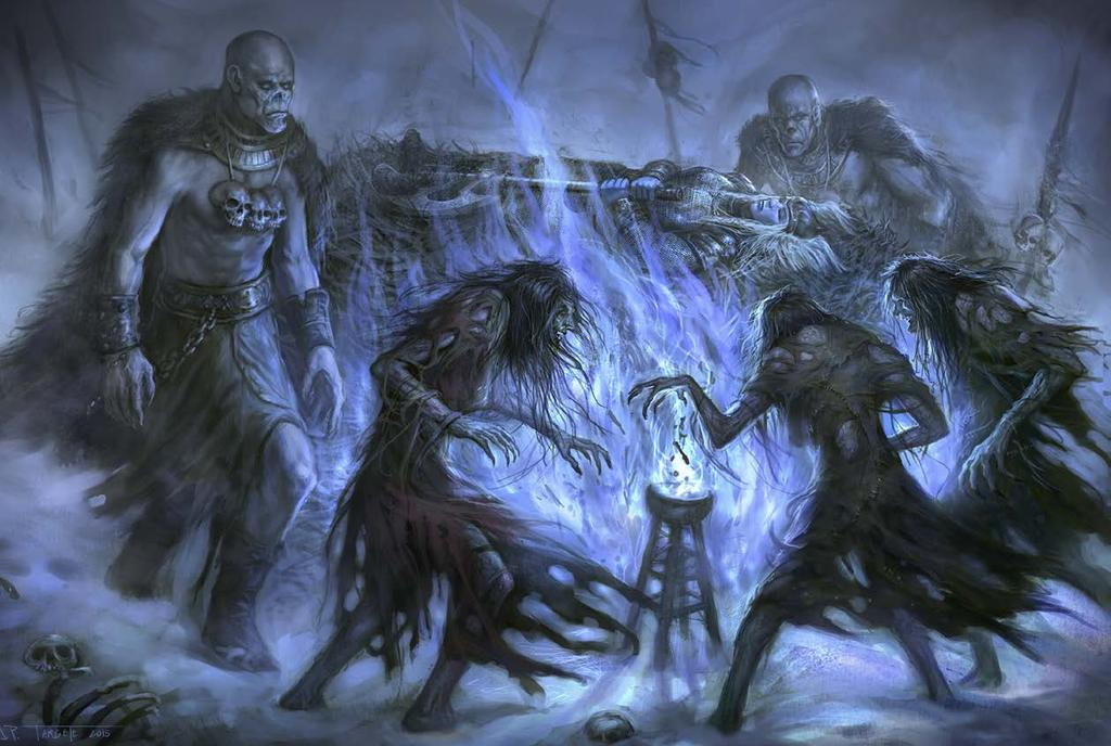 FIRE AND ICE One of the draws of the Giantslayer Adventure Path is nostalgia giants have been a classic foe throughout the history of the game, and have been around even longer in myth, fairy tales,