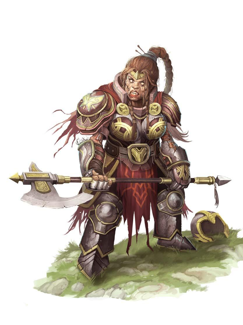 There she reanimated as a graveknight and stalked the lower halls where few orcs wandered, venting her rage and cursing her fate.