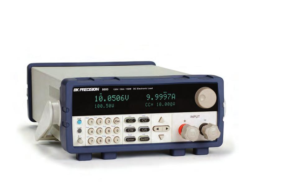 Daa Shee Programmable DC Elecronic Load The programmable DC elecronic loads provide he performance of modular sysem DC elecronic loads in a compac benchop form facor.