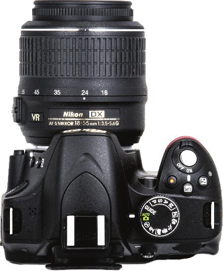 Nikon D3200 Digital Field Guide Key Camera Controls The best thing you can do with your new camera is familiarize yourself with the location of all of its controls.