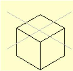 Orthographic projection - An object is seen as a series of several single views that show each face of the object in its true size and shape.