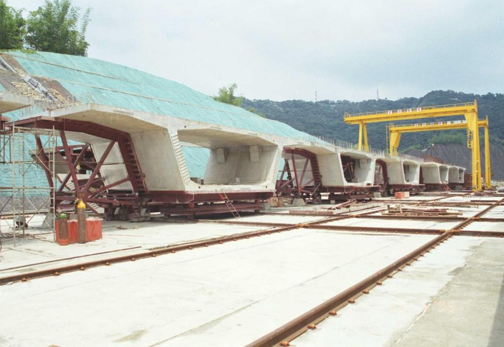 - Design of precast segmental erection girders and moulds - Construction stage calculations - Casting yard layout design - Camber calculations and bearing presets - planning, consulting and site