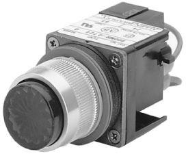 Includes operator, instruction sheet, and graduated marking ring. This operator does not have a resistive potentiometer element.