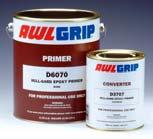 83 AWLG3014G Converter For G9072 Qt AWLGRIP HULL-GARD EPOXY PRIMER Fast recoatability - can be recoated as soon as the solvents evaporate, even at low temperatures.