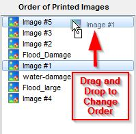 Simsol Photo Guide 17 iv. If you do not want certain photos to be printed that have already been selected for printing, simply select those photos and click the back arrow.
